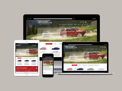 Toyota Dealership Website design web ux responsive automotive