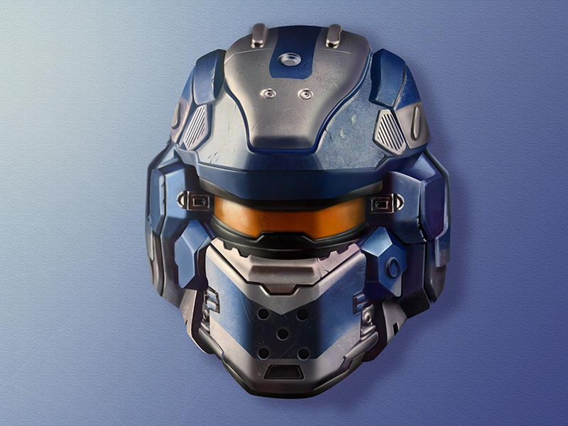 iCon for Halo icon soldier notlongshadows notflat halo game
