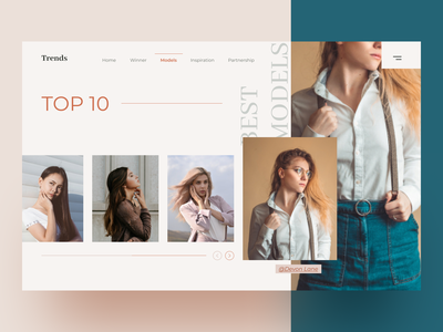 Trends Fashion Website Header fashion hero image web header exploration