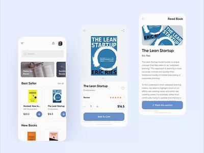 E BOOK app prototyping animation mobile app protopie prototyping ebook app