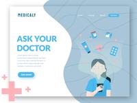 Medicaly - animated hero image