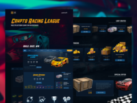 Crypto Racing League | Multiplatform Game on Blockchain