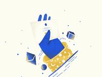 Let's bring your idea to life! inspiration app branding illustration design