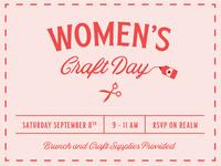 Women's Craft Day
