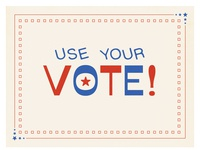 Use Your Vote