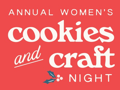 Cookies & Craft Night