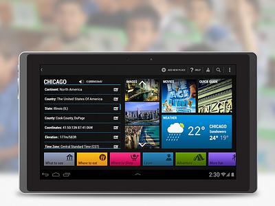 OLPC Xo Tablet app android app dashboard olpc education interface ui