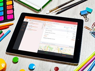 Ipad Orders App ios pos ui ipad