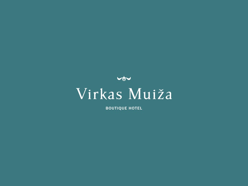 Re-branding for Virkas Manor boutique hotel