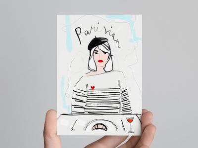 Parisian Postcard
