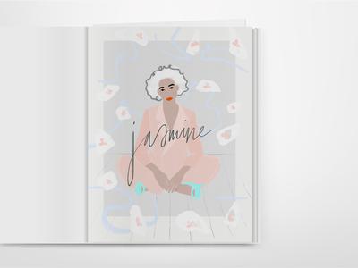 Jasmine | Magazine Spread