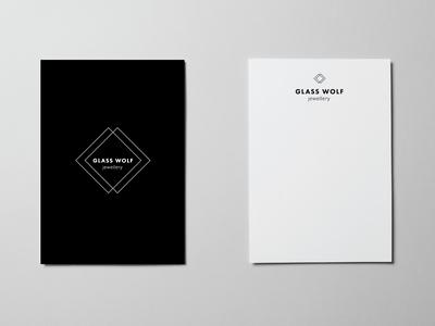 Branding | logo design | glass wolf