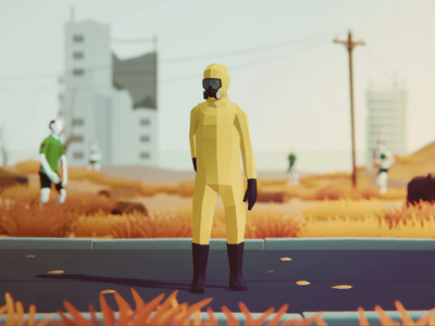 Low Poly Animated People: Sing! polyperfect unity3d illustration 3d people apocalypse characters animation lowpoly3d lowpolyart lowpoly