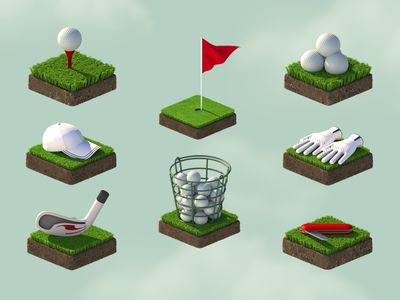 golf game icons