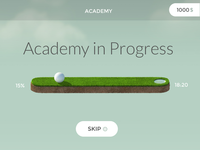 Golf Progress Bar