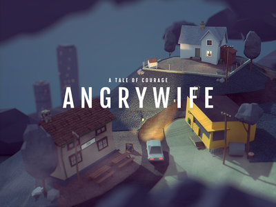 Angry Wife angry wife darkfejzr game gaming ios tablet ipad 3d lowpoly blender
