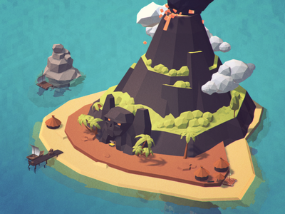 Low Poly Ultimate Pack 1.5 world terrain unity asset isometric 3d poly low