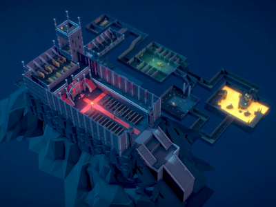 Low Poly Dungeon