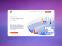 Digital product landing page