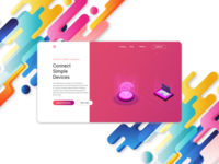 IOT product landing page