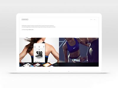 New Portfolio – 2017 product photography interface ui clean minimal nike design ux responsive mobile web