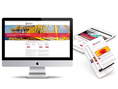 Web Design Responsive Revestimientos Ind web design
