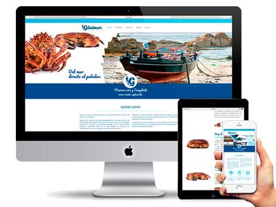 Web Design Responsive Gelaimar brand restyling web design