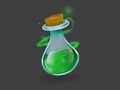 Poison icon ux ui poison photoshop indiegame illustration icon game