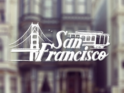 San Francisco typography handmade handlettering calligraphy