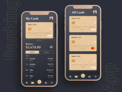 CARDS | Banking app