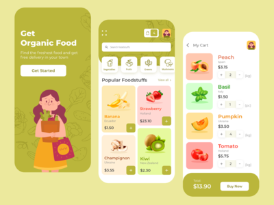 Fresh Market | Shopping App