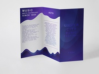 UNDERCITY music festival- brochure