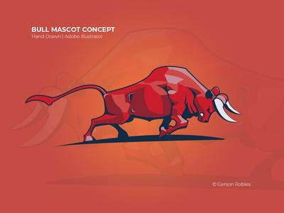 Bull Mascot Concept