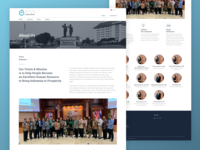 Adhyaksa - About Us page | 1 Dribbble Invite