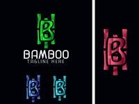 B Latter   Bamboo logo mark