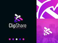 CLIPSHARE Logo and Logo Mark