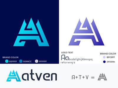 Logo word mark ATV amdesignspack