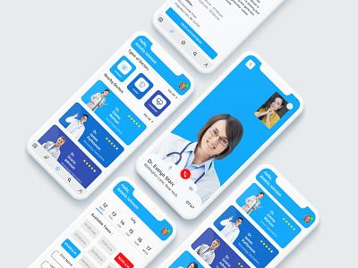 Medical App UI Design brand design appdesign brandingagency doctor app medical app branding uxdesign health app mobile ui app design interaction design ux ui