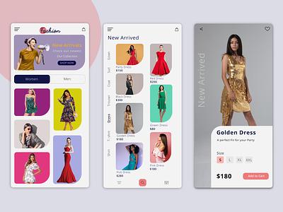 Fashion App website concept websites applicationdevelopment brand identity branding ecommerce shop ecommerce app uiuxdesign appuidesign app design fashion design fashion app fashion uxdesign appdesign brandingagency products design ux ui
