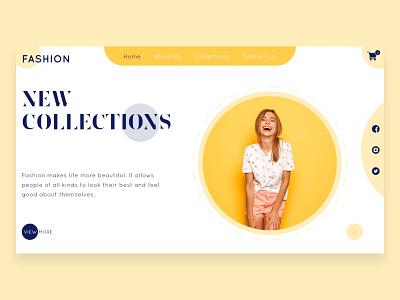 Fashion Store User Interface Design website uxdesign appuidesign fashion design ecommerce shop fashion design brand design products brandingagency ux ui