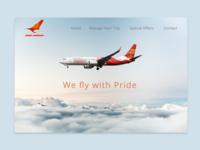 Air India Web UI/Ux Design Case Study