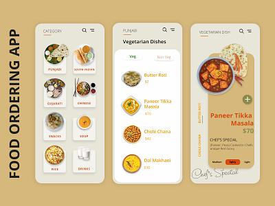 Food Ordering App brandingagency appuidesign uxdesign food app ui appdesign products web ux ui