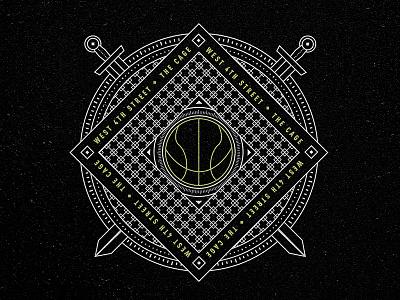 Adidas Street - The Cage street ball nyc icon crest basketball badge adidas