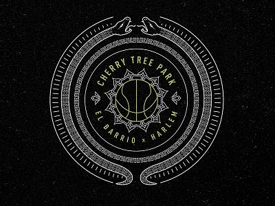 Adidas Street - Cherry Tree Park ball street nyc icon crest basketball badge adidas