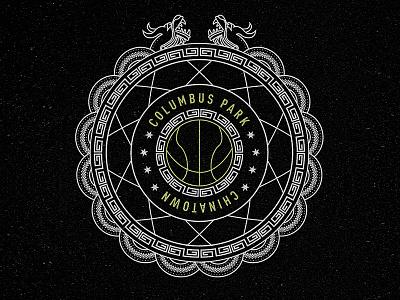 Adidas Street - Columbus Park street ball nyc icon crest basketball badge adidas