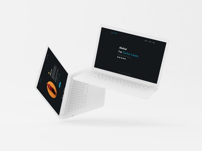 Mockup Web work blog about grid web prototype resume cv ui ux