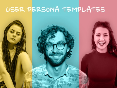 User persona template designer country manager teacher education template business boy girl ux persona user