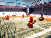 Happy Geek Padel Day ball siux head 3d sport padel flash ironman batman spiderman marvel