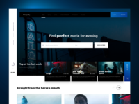 Filmography Library Landing Page