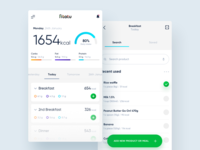 FITATU - Calories counter redesign